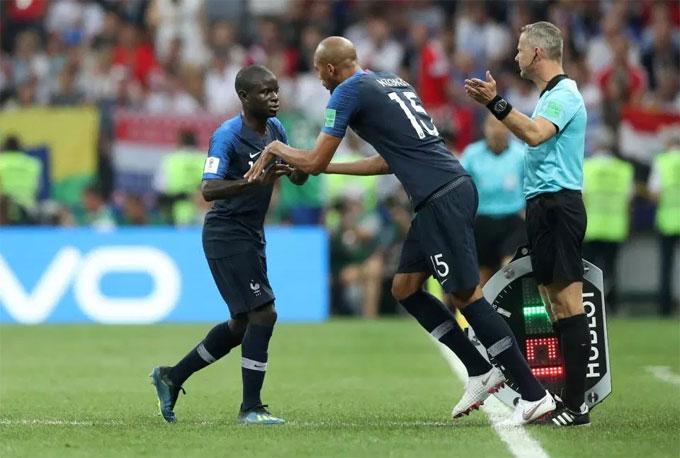Hé lộ lý do máy quét Kante chơi bất ổn và bị thay ra sớm ở chung kết World Cup - 1
