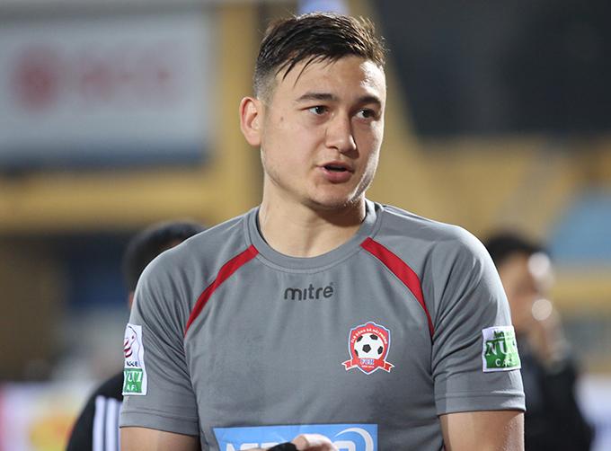 Văn Lâm nhiều khả năng sẽ là lựa chọn số một của HLV Park Hang-seo ở vị trí thủ môn tại Asiad 2018. Ảnh: Đương Phạm.