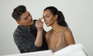 'Phù thủy makeup' tiết lộ 8 mẹo để có khuôn mặt sắc sảo như Kim