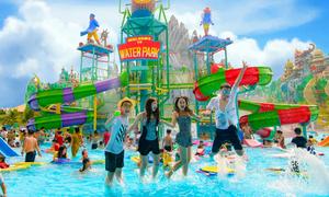 Du lịch ngày hè tại 'thiên đường' vui chơi, giải trí Suối Tiên