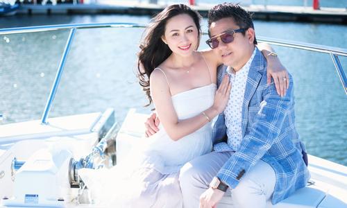 Ảnh cưới lãng mạn của top 6 Hoa khôi áo dài và chồng Việt kiều