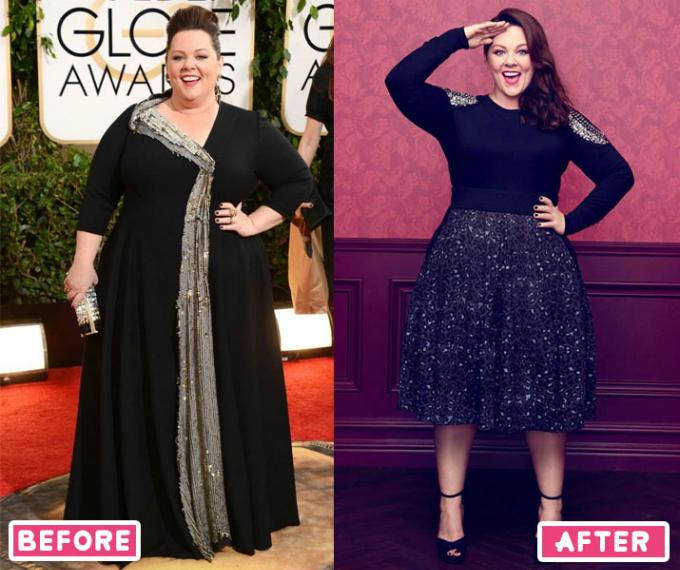 Vóc dáng và sức khỏe của Melissa thay đổi rõ rệt sau khi giảm cân.