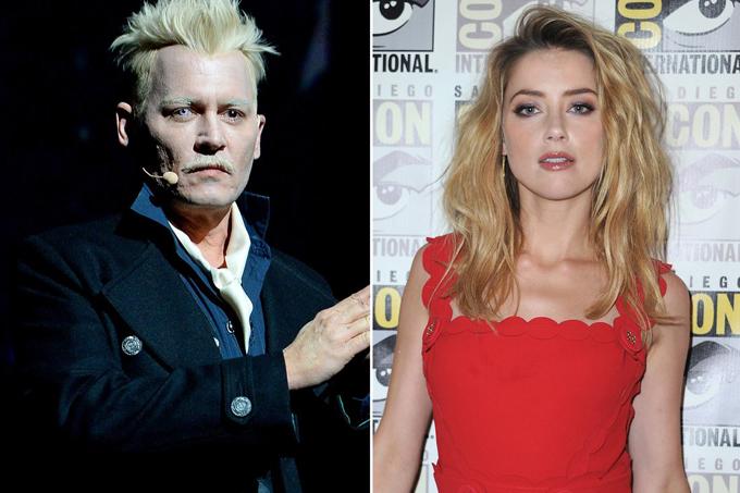 Johnny Depp và Amber Heard tại Comic-Con hôm thứ 7.