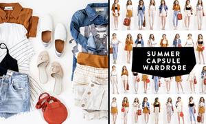 35 set đồ trẻ trung từ 12 món trang phục