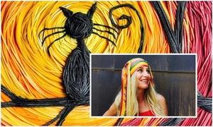 Người phụ nữ biến pasta thành nghệ thuật
