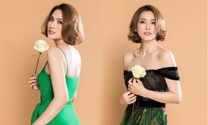 Anh Thư gợi cảm trong thiết kế của Lê Thanh Hoà