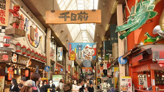 Đồ ăn, shopping, cảnh đẹp... gì gì Osaka đều có - 5