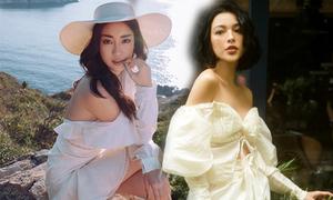Diện trang phục trễ vai đa phong cách như sao Việt