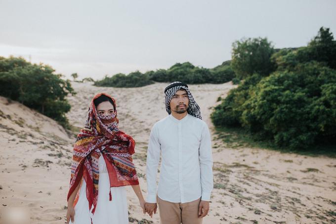 Ảnh cưới theo phong cách Ả Rập của cặp đôi Vũng Tàu