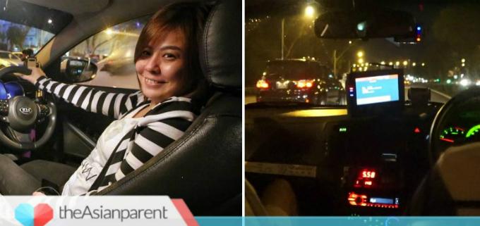 Chị Liu đã làm công việc lái xe ban đêm được 6 tháng.