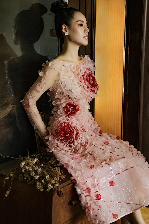 Đỗ Long giới thiệu loạt váy dạ hội đính kết kỳ công - 5