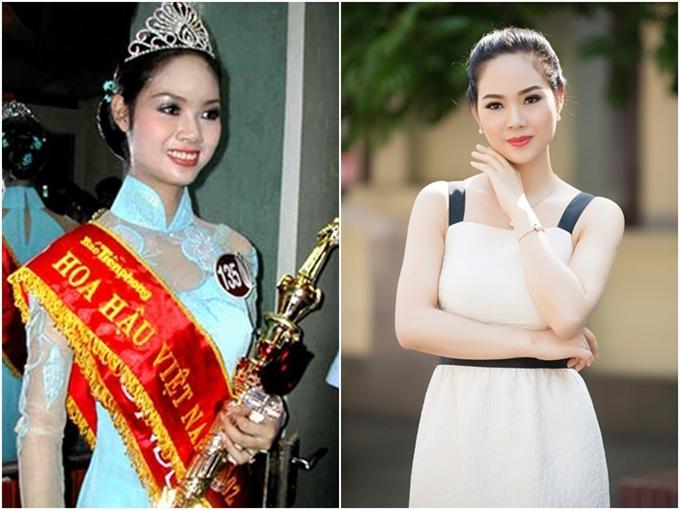 Phạm Thị Mai Phương, đến từ Hải Phòng, đăng quang Hoa hậu Việt Nam năm 2002. Khi đó, cô là học sinh lớp 12 chuyên Lý trường THPT chuyên Trần Phú, Hải Phòng. Cô trở thành đại diện đầu tiên của Hoa hậu Việt Nam tham gia Miss World vào năm 2002 và ghi tên mình vào top 20.Kết thúc nhiệm kỳ, Mai Phương trở về với cuộc sống bìnhdị với công việc một viên chức.Cô đang rất viên mãn trong hôn nhân với ông xã Nguyễn Bỉnh Khánh và hai cậu quý tử. Mới đây, Mai Phương bất ngờ tái xuất trong một hoạt động đồng hành của Hoa hậu Việt Nam 2018 và khiến nhiều người ngưỡng mộ bởi vẻ ngoài xinh đẹp, mặn mà sau 16 năm đăng quang.