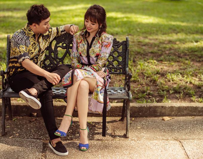 Bộ ảnh do chuyên gia trang điểm Đỗ Hoàng Vũ, tạo mẫu tóc Nguyễn Thu Giang, stylist Phạm Bảo Luận, trợ lý Lê Vi hỗ trợ thực hiện.