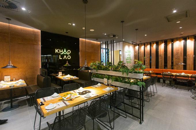 Không gian được thiết kế ấn tượng tại Khao Lao.