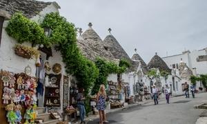 Thị trấn lều đá ở 'phần gót chiếc ủng' Italy