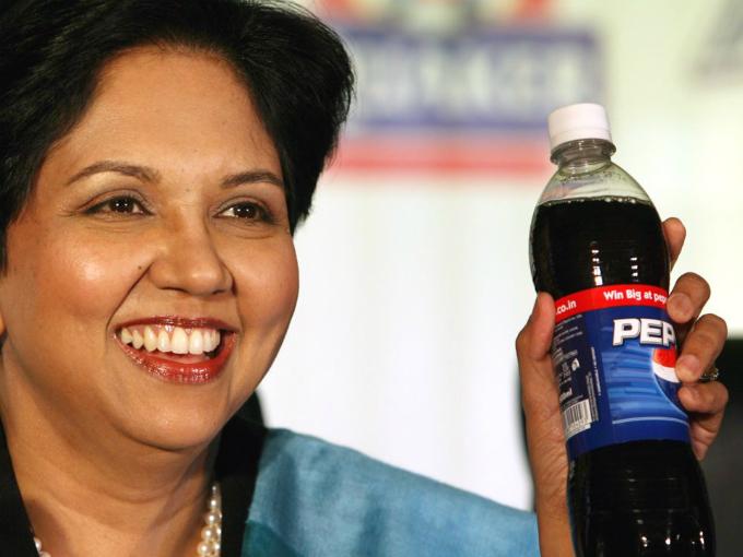 Nữ CEO đưa doanh thu PepsiCo tăng gần gấp đôi kể từ khi điều hành năm 2006. Ảnh: AP.