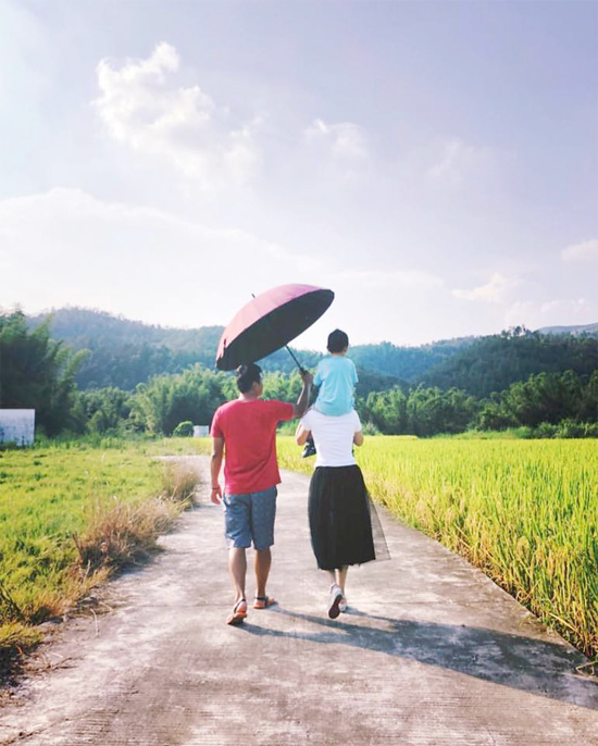 Văn Phương và Minh Thuận trong một bức ảnh chia sẻ trên mạng xã hội hồi đầu tháng 7.