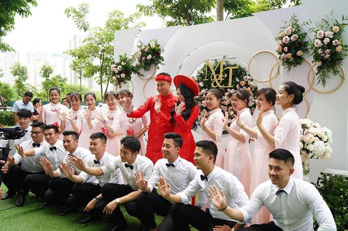 Đám cưới của Vân Navy sẽ được tổ chức vào tháng 1/2019 tại Hà Nội và TP HCM.