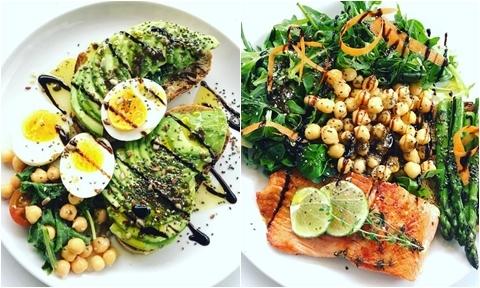 Bộ sưu tập các món salad đủ chất cho con của mẹ Việt tại Pháp