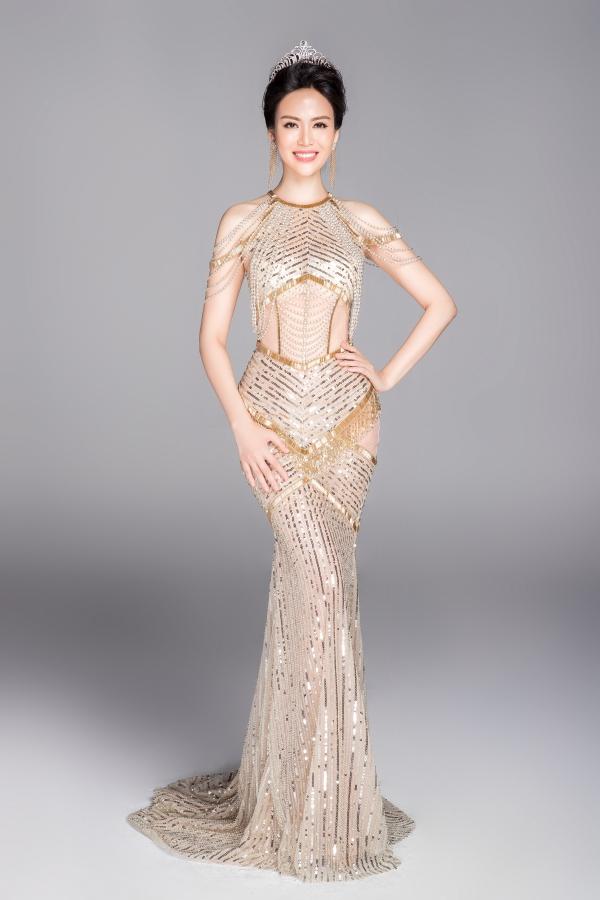 Hoa hậu Thu Thủy là gương mặt quen thuộc với khán giả qua nhiều sự kiện của làng giải trí.