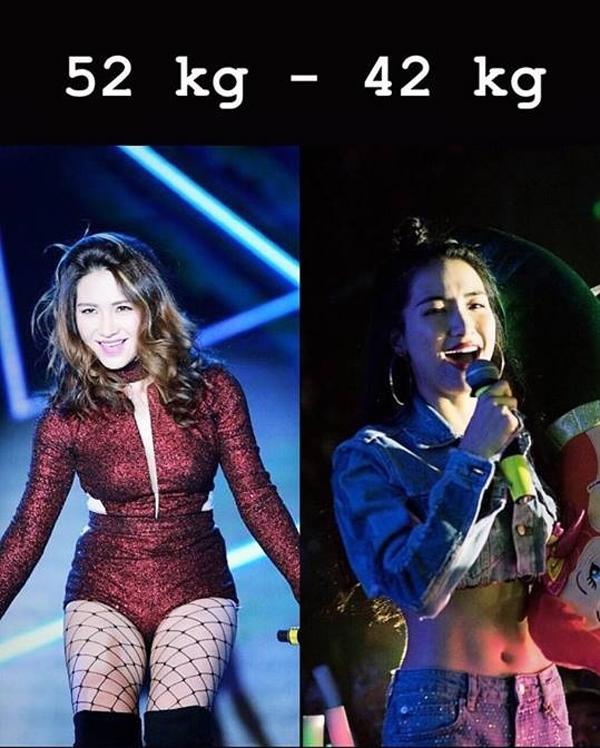 Hòa Minzy tiết lộ bí quyết giảm 10 kg, eo nhỏ hơn Ngọc Trinh - ảnh 1