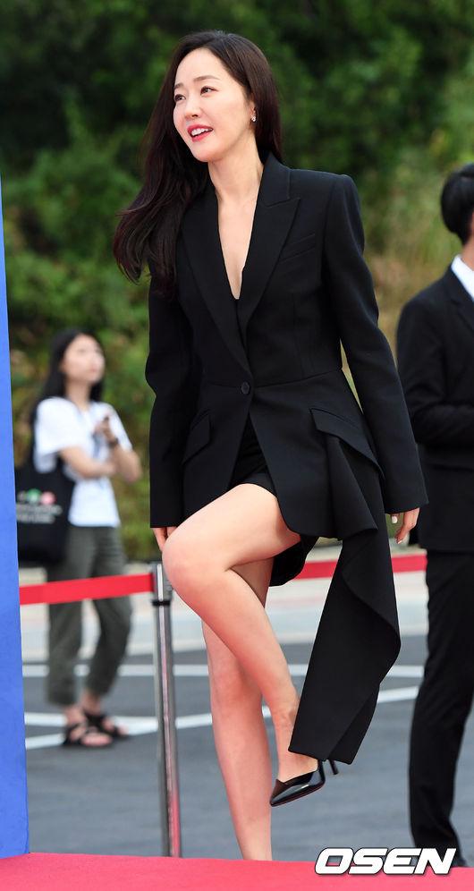 Diễn viên Uhm Ji Won.