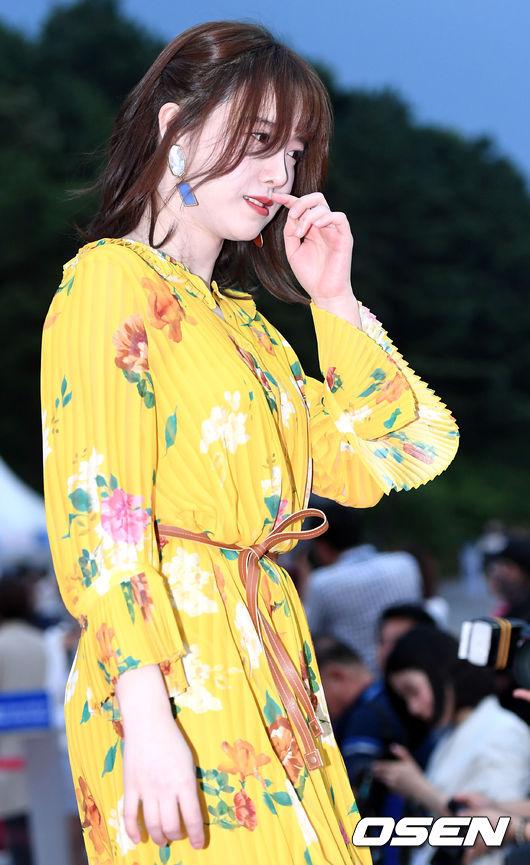 Mập mạp hơn nhưng Goo Hye Sun vẫn rất xinh.