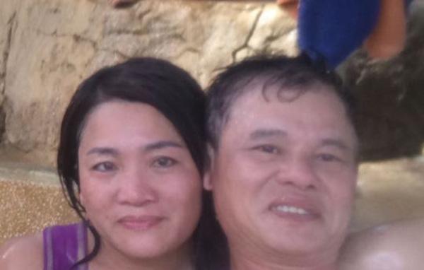 Mau Dao và chồng trước khi cô tự thiêu tại nhà. Ảnh: GoFundMe.