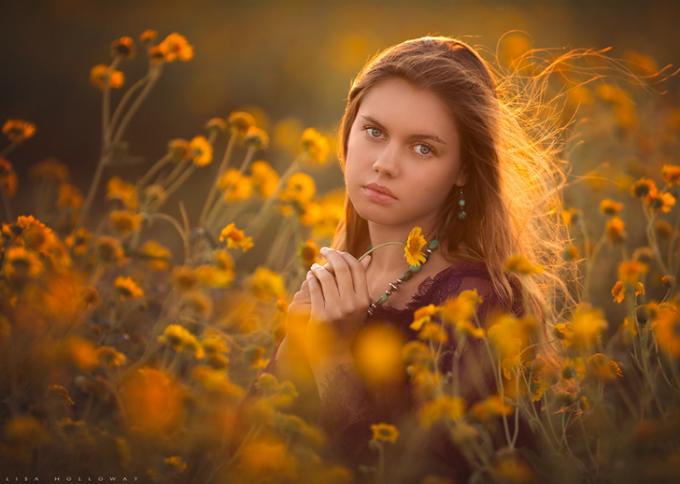 Theo Lisa, bạn không cần thiết phải đến studio để có được một bức ảnh đẹp, điều quan trọng là người mẫu.