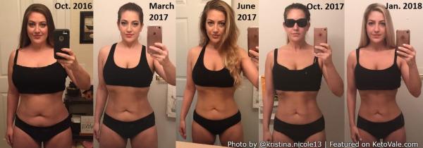 [Caption]Sau đó, tôi bắt đầu tập thể dục khoảng 5 lần mỗi tuần. Tôi vừa tập tạ vừa tập cardio. Mỗi ngày tôi dành 30 phút tập với máy và 30 phút chạy bộ. Vừa áp dụng chế độ ăn kiêng Keto và tập luyện cuối cùng tôi đã giảm được 13,6kg.