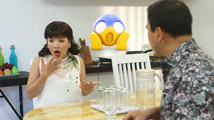 iễn viên Ngọc Trinh  đóng vai Bà Là: 1 chồng 2 con trai, chồng bỏ đi theo gái, làm nghề Cò đất, nhà kinh doanh BĐS, tốt bụng, thích mộng mơ, ăn mặc diêm dúa, mê nhảy đầm