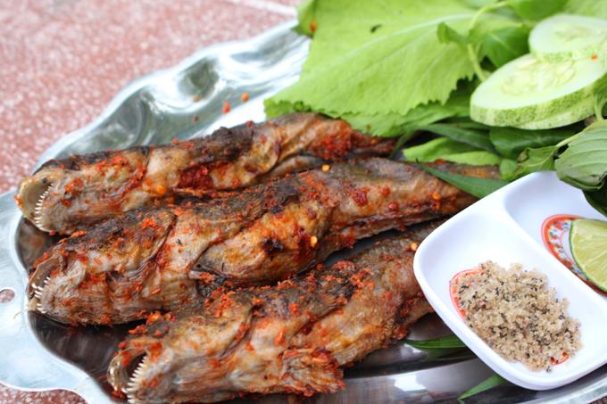 Đến Cà Mau nhất định phải thử cá thòi lòi nướng muối ớt - ảnh 2