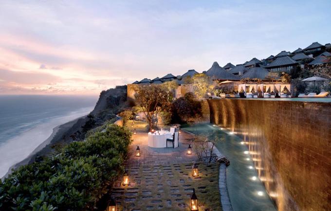 Resort trên vách núi Bali - nơi chứng kiến hôn lễ của 3 cặp sao Hoa ngữ - ảnh 5