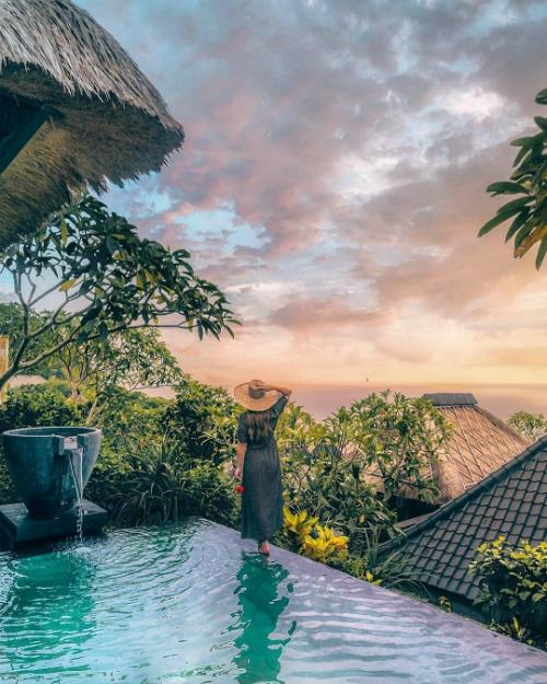 Resort trên vách núi Bali - nơi chứng kiến hôn lễ của 3 cặp sao Hoa ngữ - ảnh 8
