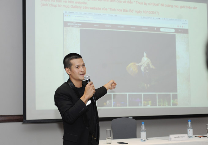 Việt Tú: Có thua vẫn theo kiện vụ Tinh hoa Bắc Bộ đến cùng - ảnh 1