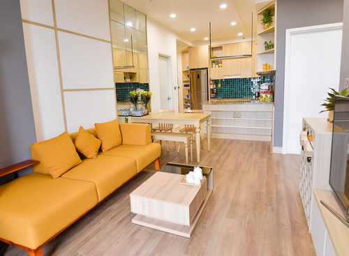 Một bộ sofa phù hợp sẽ giúp không gian ngôi nhà thêm sinh động và ấm áp.