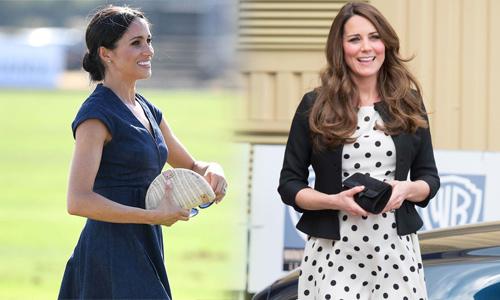 Cách Meghan và Kate tránh bị gió thổi tốc váy
