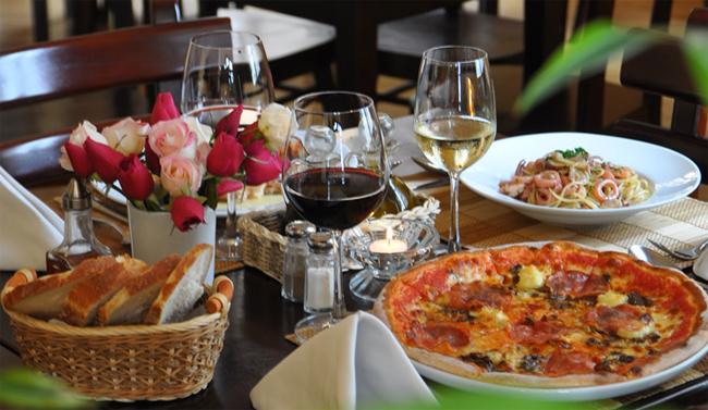 Các món ăn đặc trưng của Da Paolo.