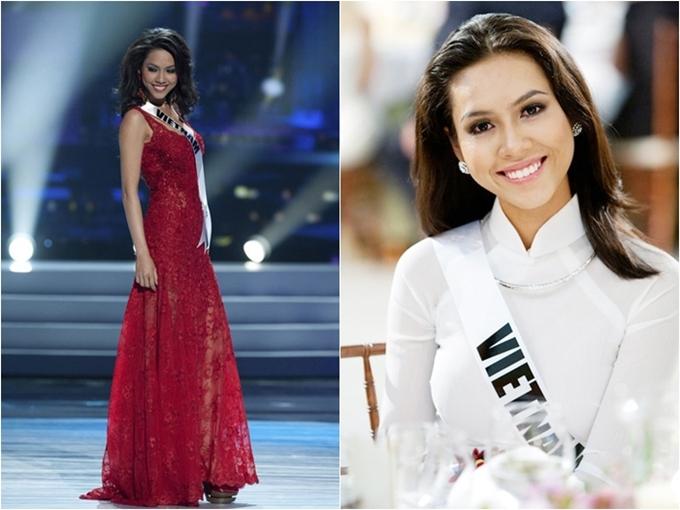 Thành tích thi quốc tế của các Hoa hậu, Á hậu Việt Nam - 3