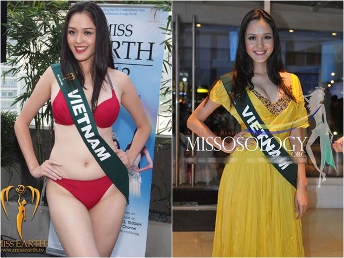 Thành tích thi quốc tế của các Hoa hậu, Á hậu Việt Nam - 5