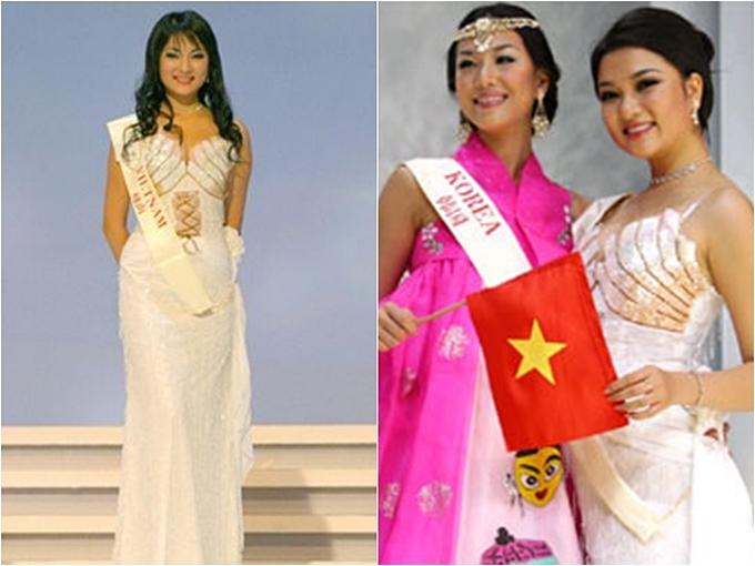 Thành tích thi quốc tế của các Hoa hậu, Á hậu Việt Nam - 1