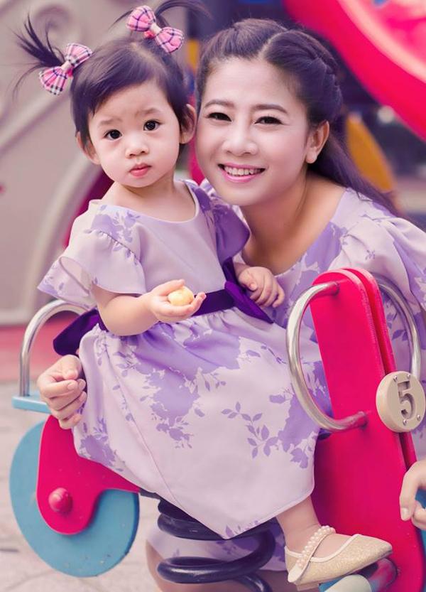 Mai Phương đang một mình nuôi con gái gần 5 tuổi.