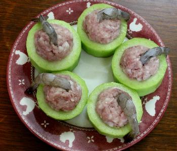 Canh bí xanh nhồi tôm thịt thanh ngọt, đưa cơm - 4