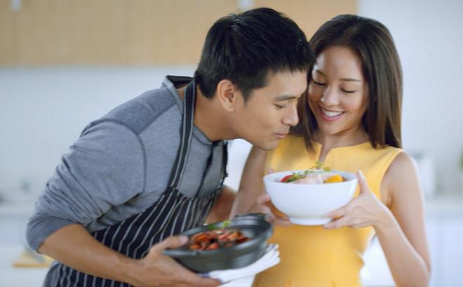Bữa ăn ngon của vợ khiến chồng muốn trở về nhà để thưởng thức.