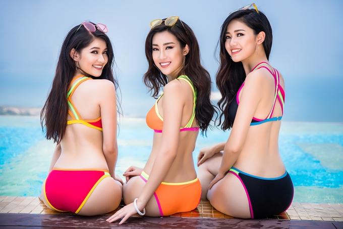 Top 3 Hoa hậu Việ nam 2016 được