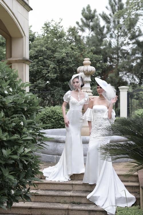 Váy cưới mang nét cổ điển, lãng mạn cho cô dâu thích sự tối giản