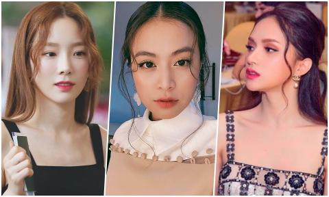 Mỹ nhân Việt, Hàn, Philippines rủ nhau để kiểu tóc mái râu gián