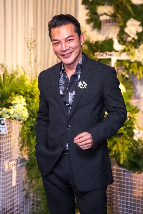 Diễn viên Trần Bảo Sơn là một trong những khách mời danh dự của buổi tiệc.