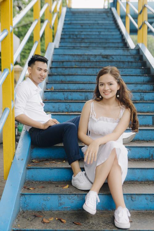 Ảnh cưới quanh Hà Nội của cặp được bạn thân se duyên