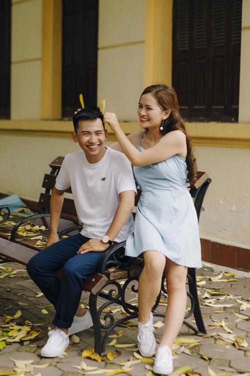Ảnh cưới quanh Hà Nội của cặp được bạn thân se duyên - 1